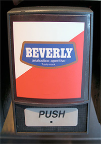 Italy's Beverly: The bitter soda